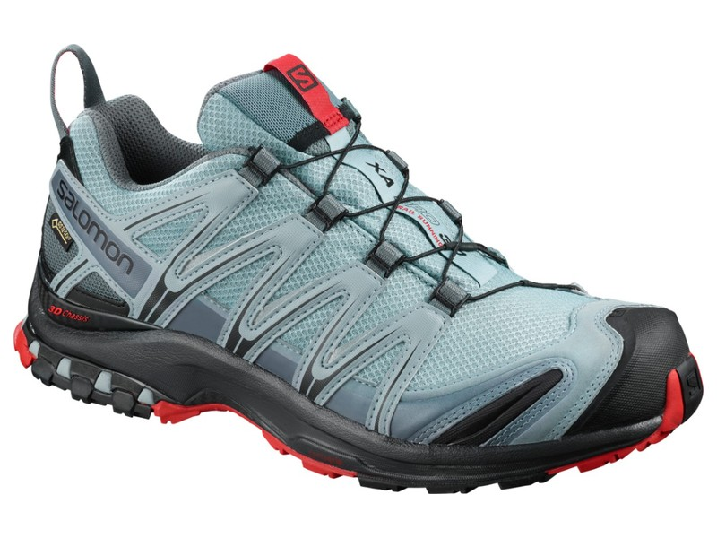 Salomon SHOES XA PRO 3D GTX Lead/Bk/Barbados  - Méret: 7,5