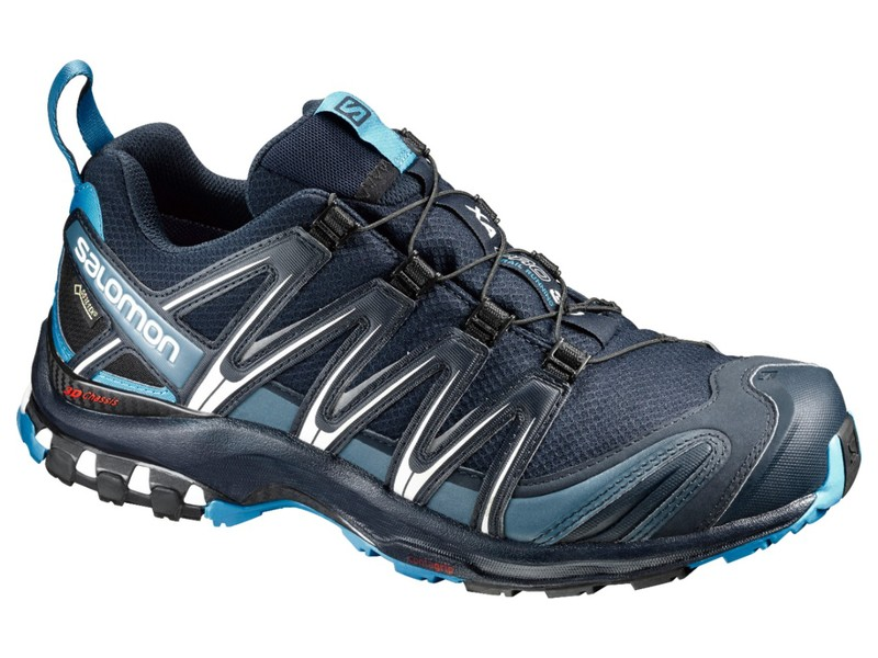 Salomon SHOES XA PRO 3D GTX Navy Blaze/Hawaiian - Méret: 9